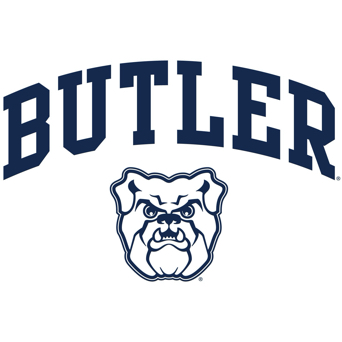 Blue Butler University Logo