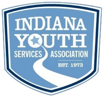Blue Indiana Youth Services Association Logo