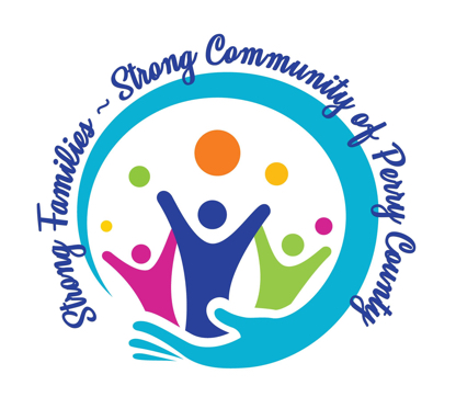 Perry County Strong Family Strong Community Logo